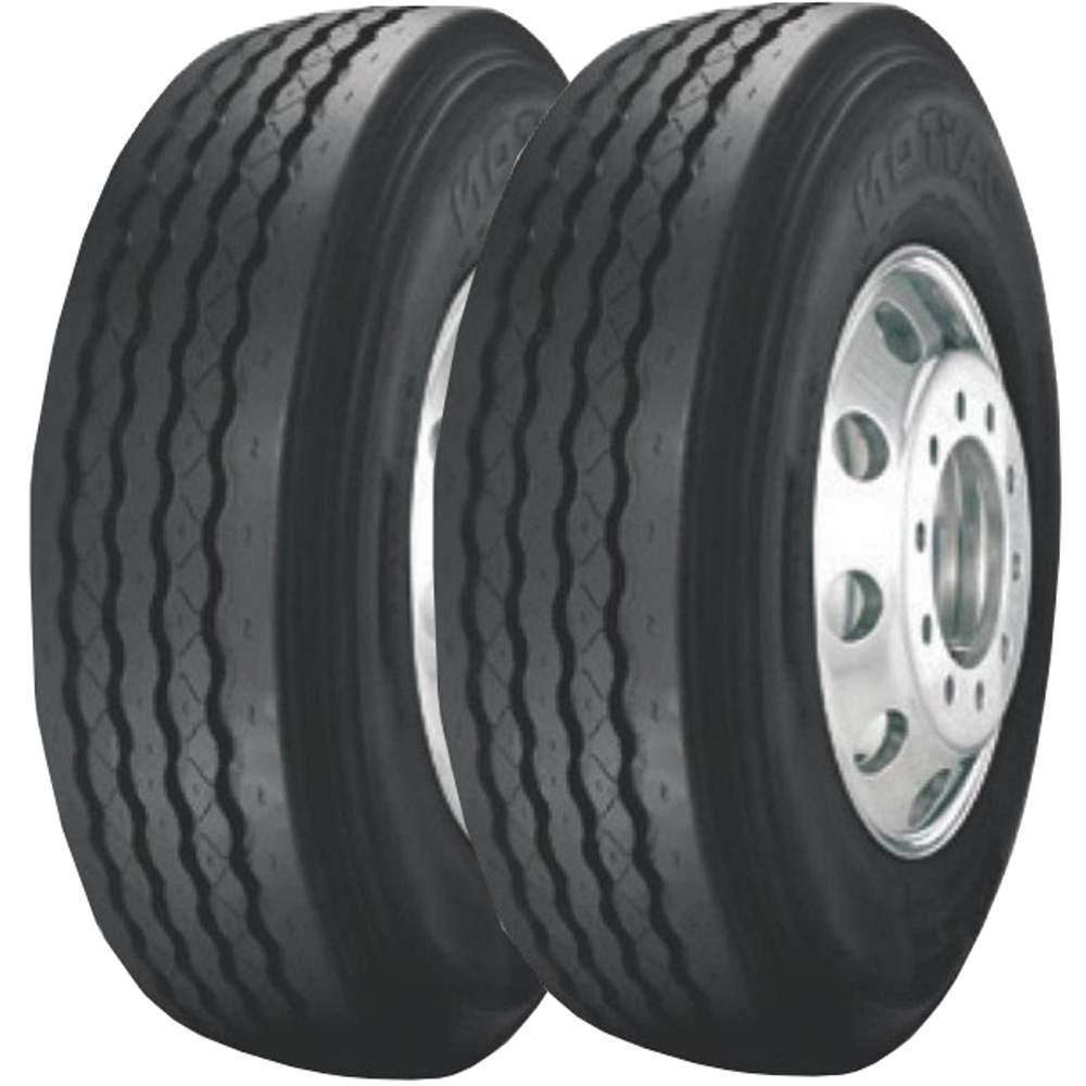 Combo 2 Pneus 295/80r22.5 152/148m Tubeless Dayton D300 Bridgestone