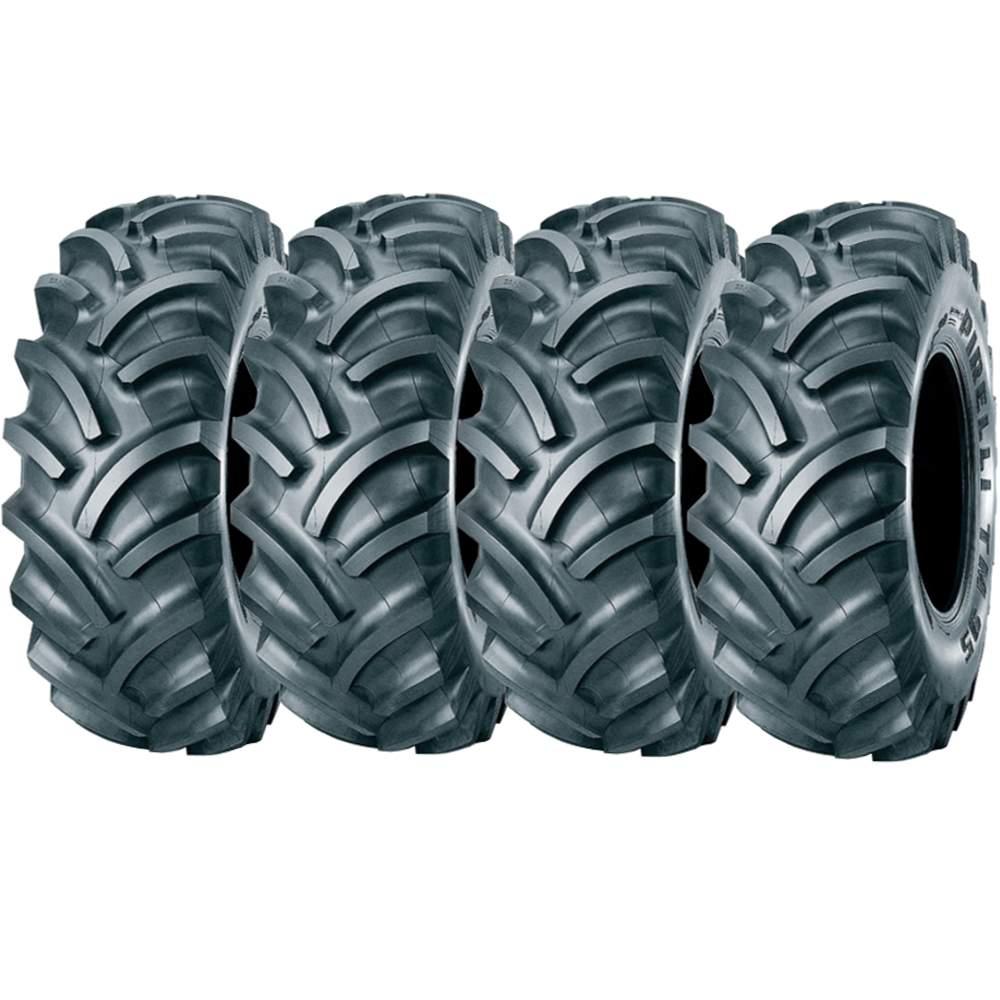 Combo 4 Pneus 12.4-24 ( 12,4-24 ) 10Pr Tubetype Tm95 Pirelli