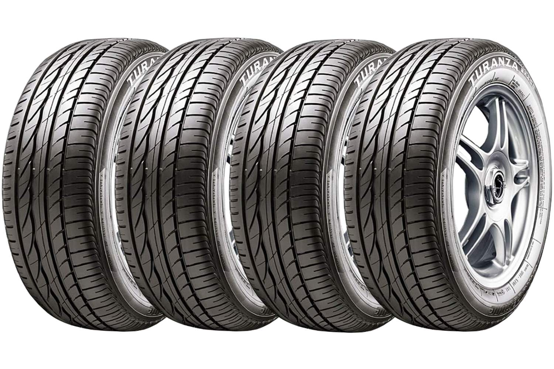 Combo 4 Pneus 205/55r16 91v Radial Tubeless Turanza Er300 Bridgestone