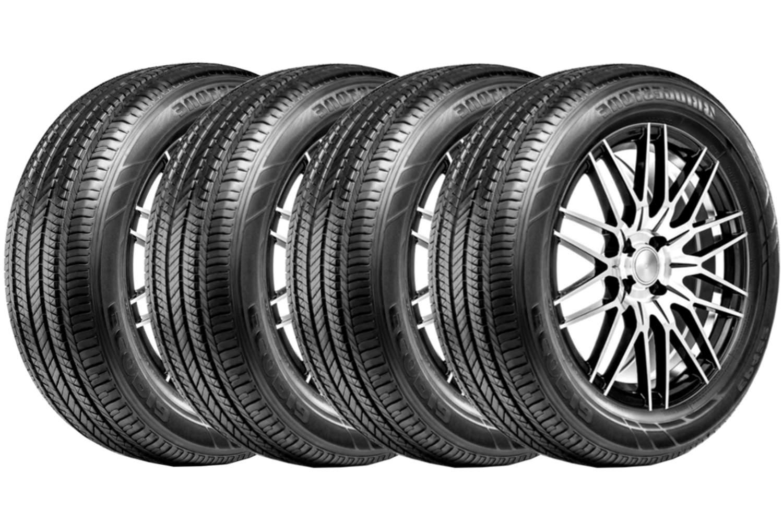 Combo 4 Pneus 205/55r17 91h Ecopia Ep422 Plus Bridgestone