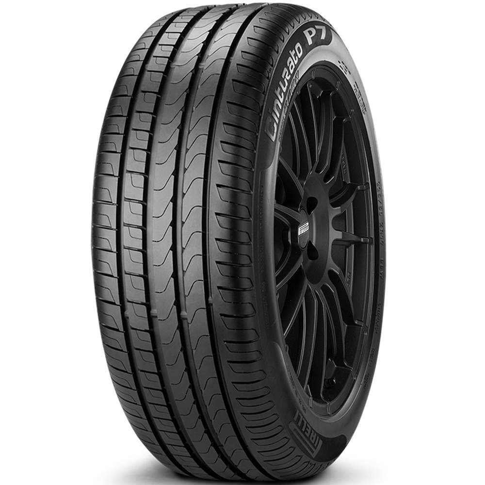 Combo 4 Pneus 215/50r17 91v Tubeless Cinturato P7 Pirelli