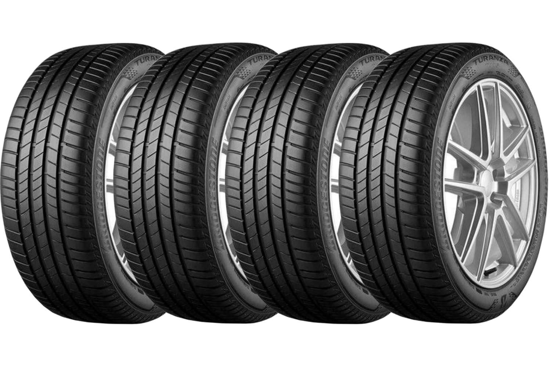 Combo 4 Pneus 225/50r17 94v Tubeless Turanza T005 Bridgestone