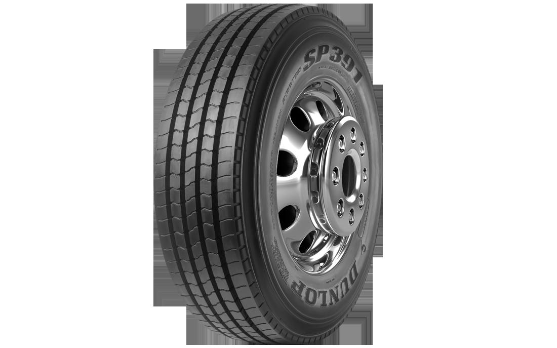Combo 4 Pneus 295/80R22.5 152/148M SP391 Liso Dunlop Caminhão Onibus