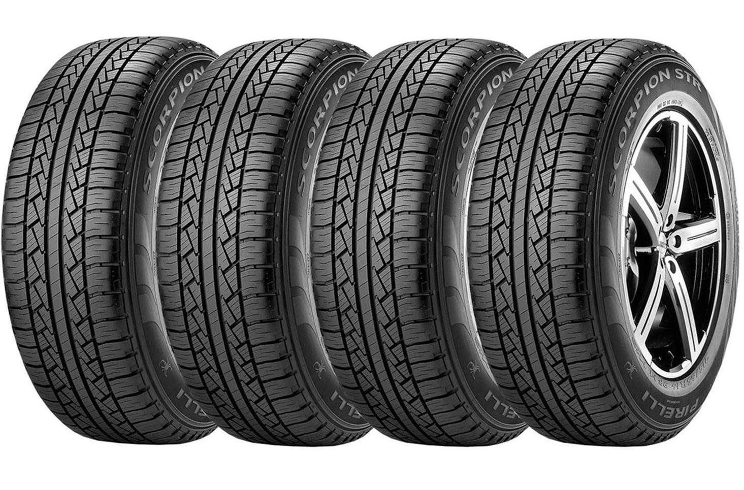 Pneu Pirelli Scorpion Str 265/75 R16 123/120r - 4 Unidades