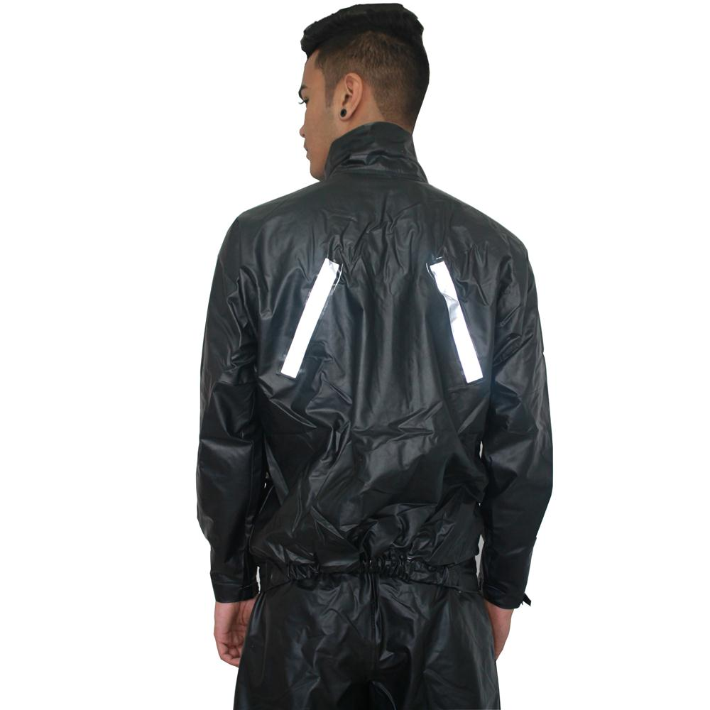 Combo Capa De Chuva P + Polaina P + Luva Fixa Biz Pop Masc Protercapas