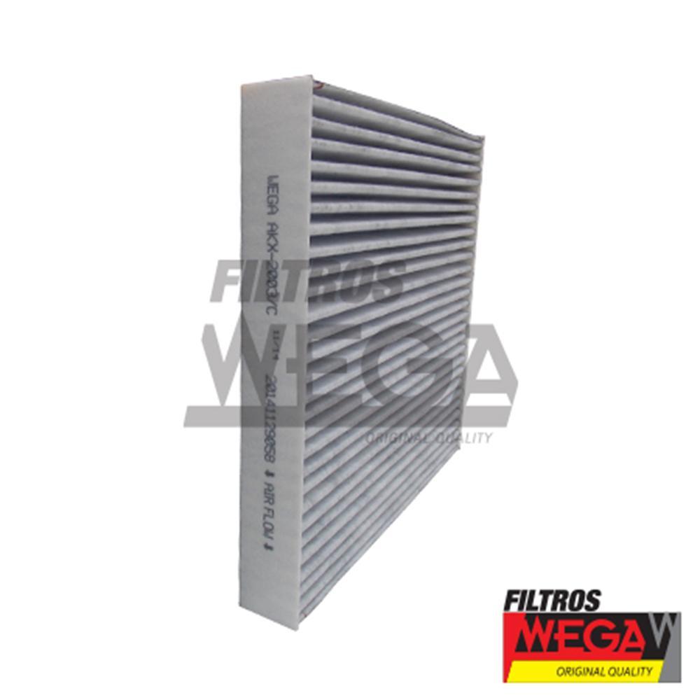 Filtro de Ar Condicionado Cabine Hyundai Azera 3.3 V6 24v Carvão Ativado Akx2003/c Wega