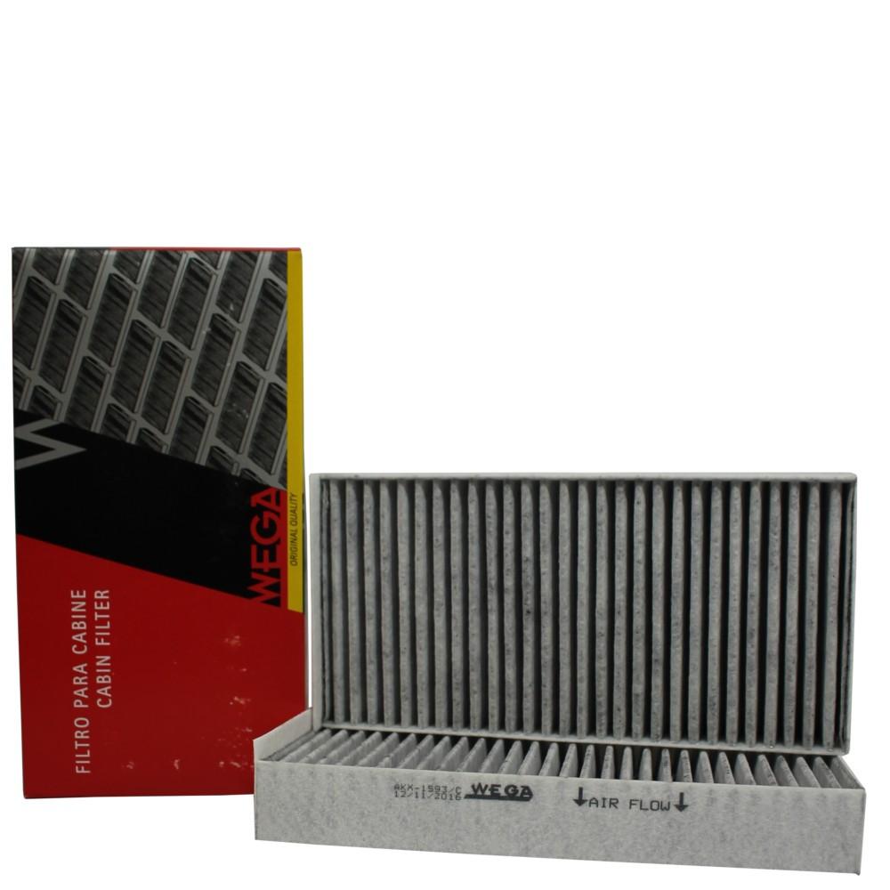 Filtro Ar Condicionado Bmw X1 20i 2.0 Active Akx1593/c Wega