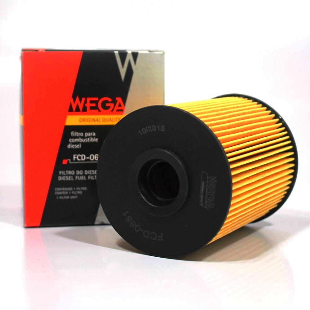 Filtro de Combustível Dodge Ram 2500 5.9 V6 Turbo Diesel Fcd0651 Wega