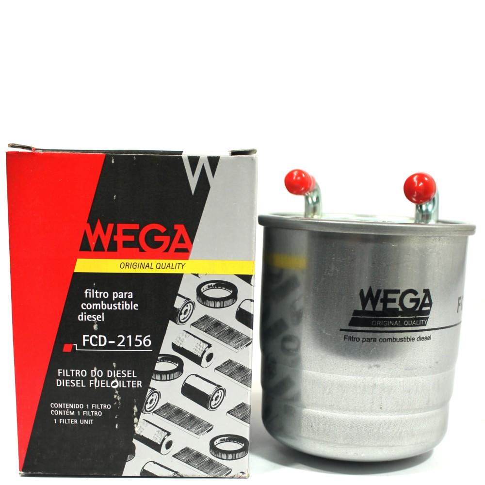 Filtro Combustível Classe ML S 350 3.0 2009 Em Diante Fcd2156 Wega