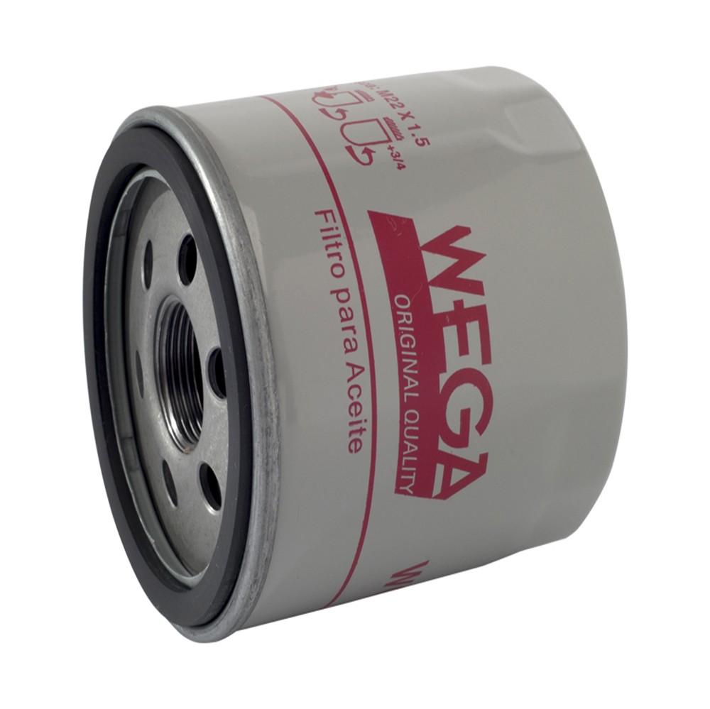 Filtro de Óleo S10 Flex 2.5 8v 206cv 2015 Em Diante Wo133 Wega