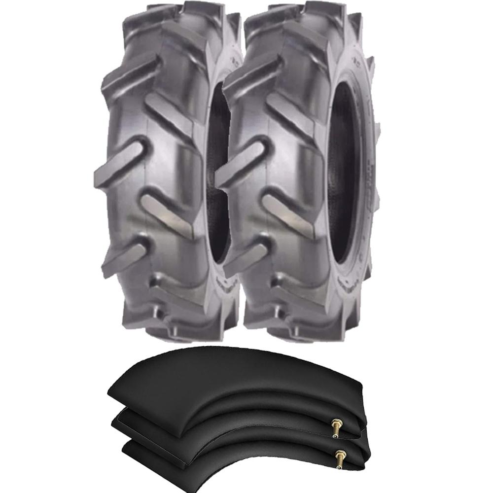 Kit 2 Pneus Tobata 500/6-12 4 Lonas Tubetype Tg22 Pirelli + Camaras