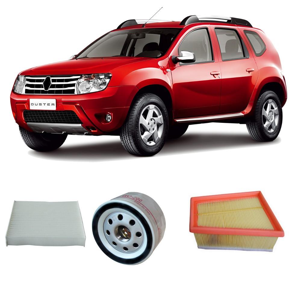 Kit Ar Motor + Oleo + Ar Condicionado Duster 1.6 16v Hi Flex