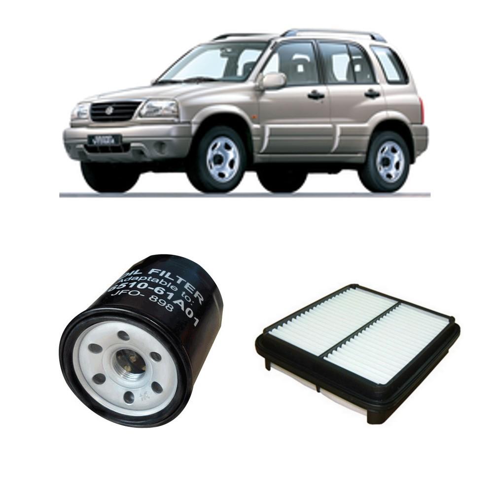 Kit Filtro Ar Motor + Filtro De Oleo Motor Tracker 2.0