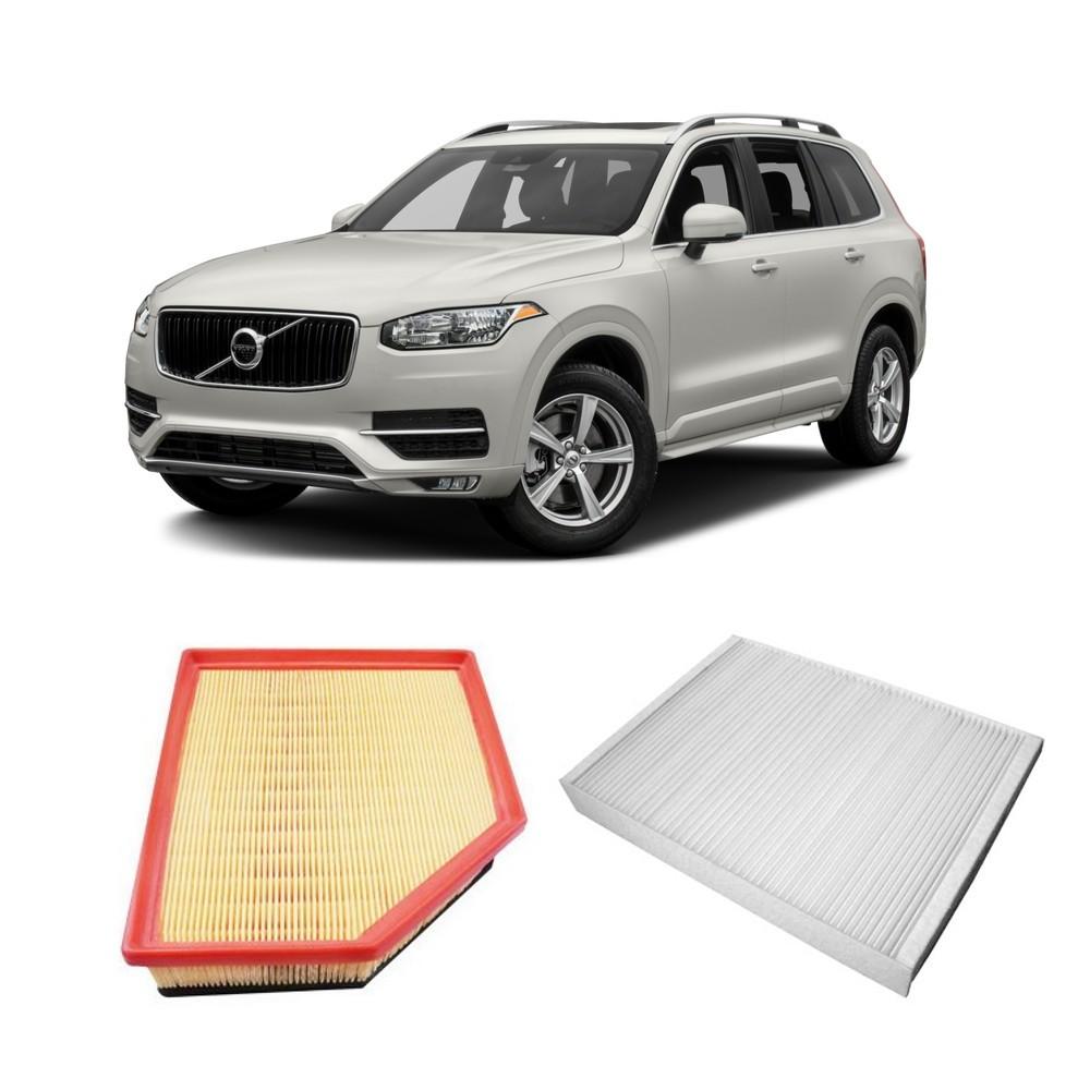 Kit Filtros Ar Motor + Filtro Ar Condionado Volvo Xc60 T5 2011 a 2013