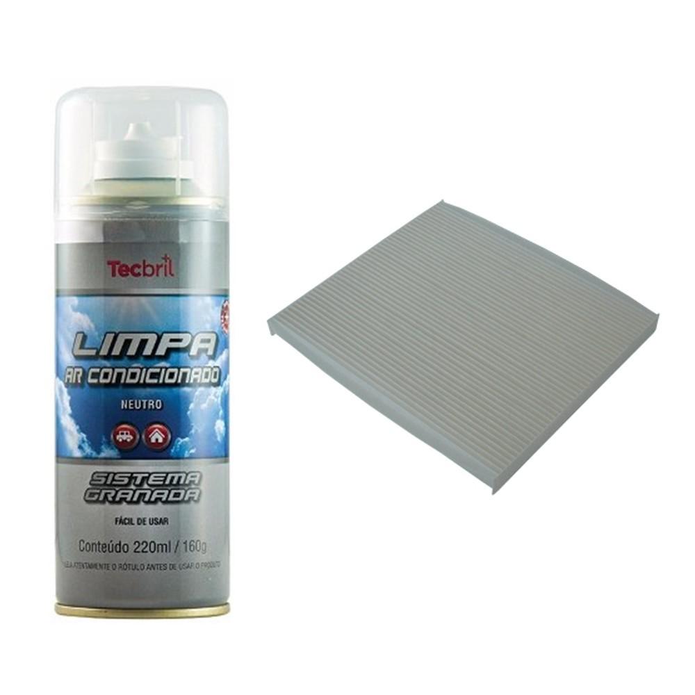 Kit Troca De Filtro De Ar Condicionado + Higienizador Azera 2012 Em Diante