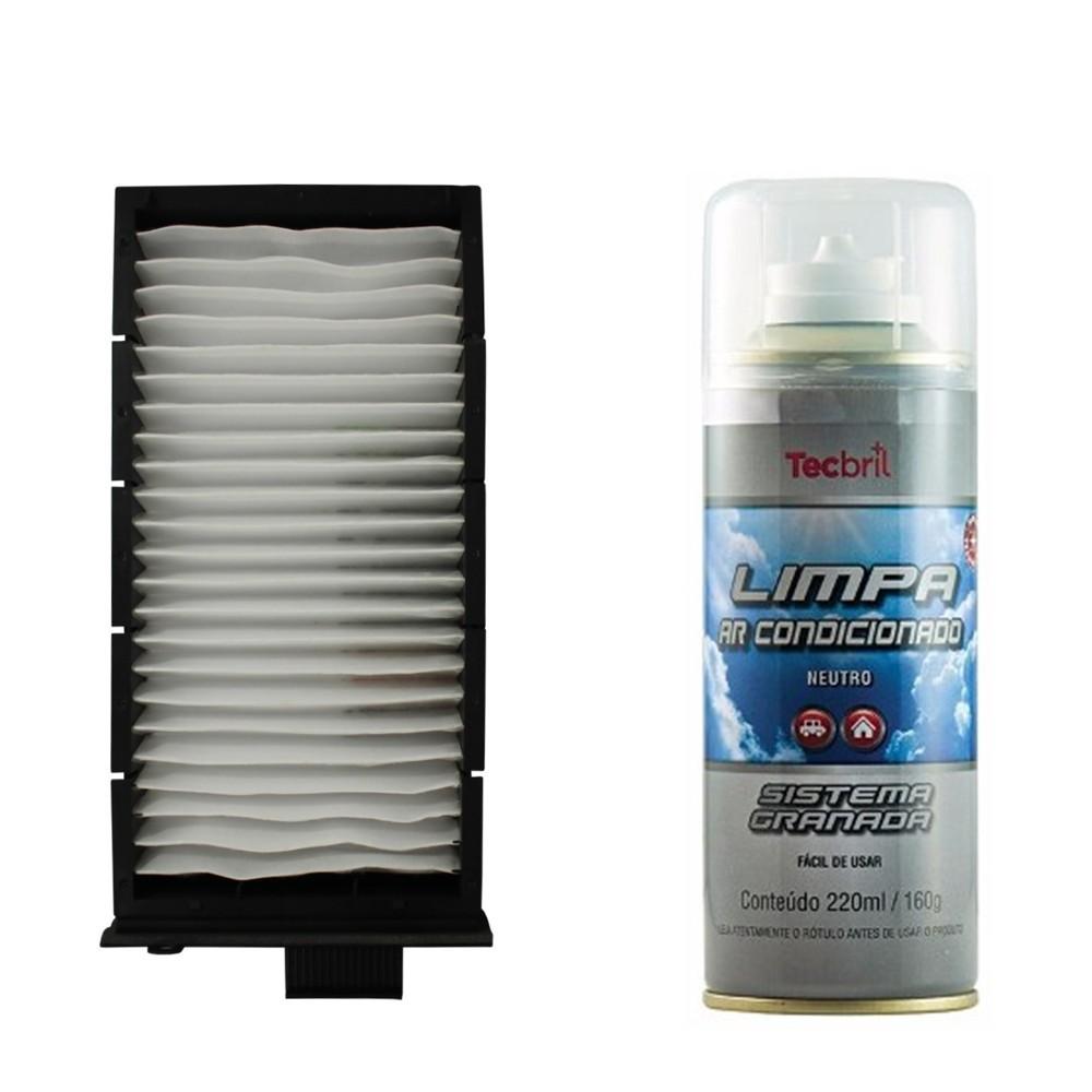 Kit Troca De Filtro De Ar Condicionado + Higienizador C5 2.0 16v 2001 Ate 2004 
