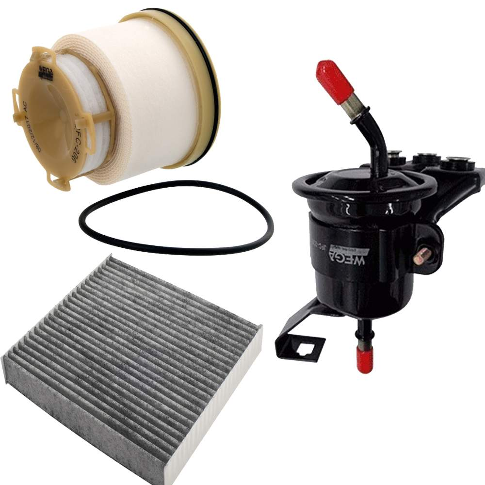 Kit Troca de Filtro Hilux Diesel Wega