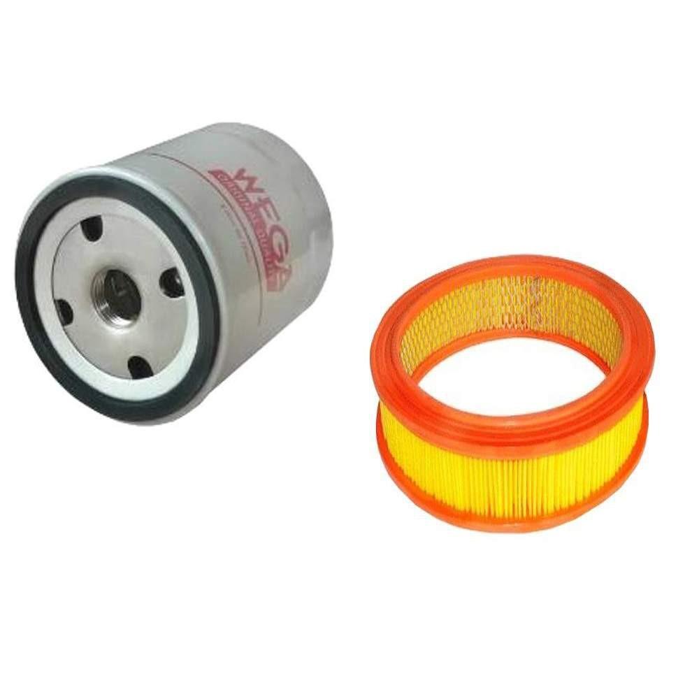 Kit troca de filtro Santana Carburado gasolina mecânico 1.8 8V - AP santana 84/94 Wega