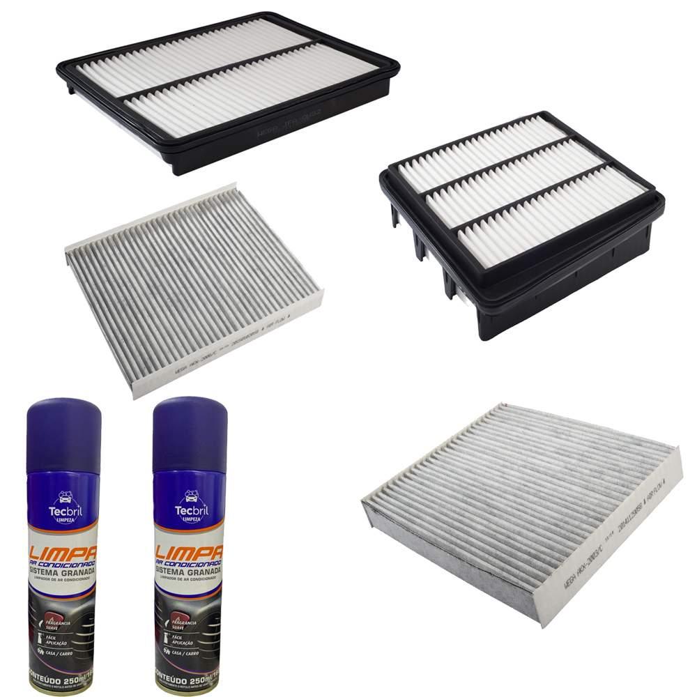 Kit Troca de Filtro Wega + Higienizador Neutro Tecbril