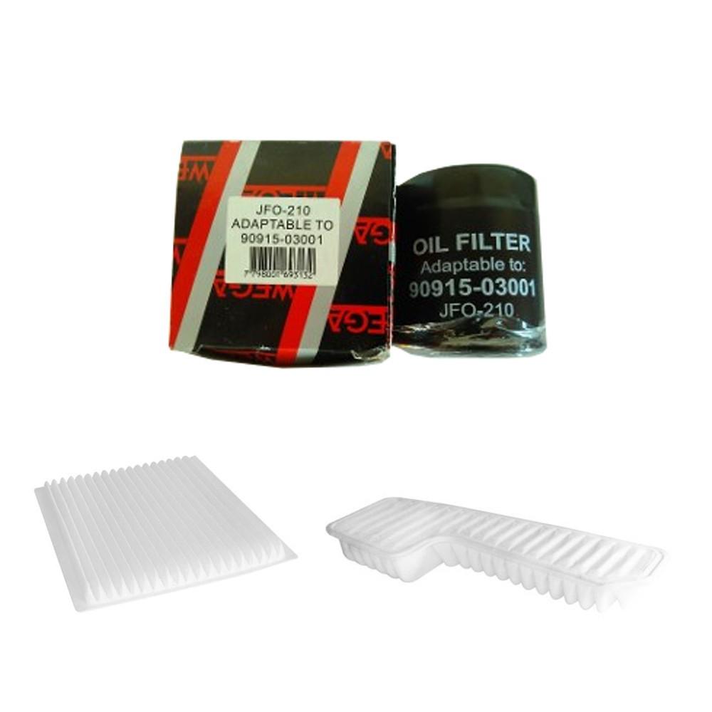 Kit Troca De Filtros Rav4 1.8 16v 2001 a 2005