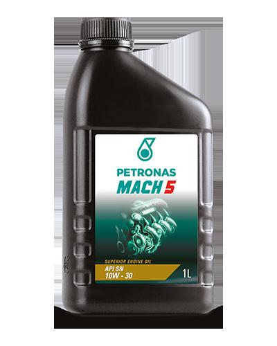 Oleo 10w30 Mach 5 Api Sn Lt Petronas Oleo Mineral