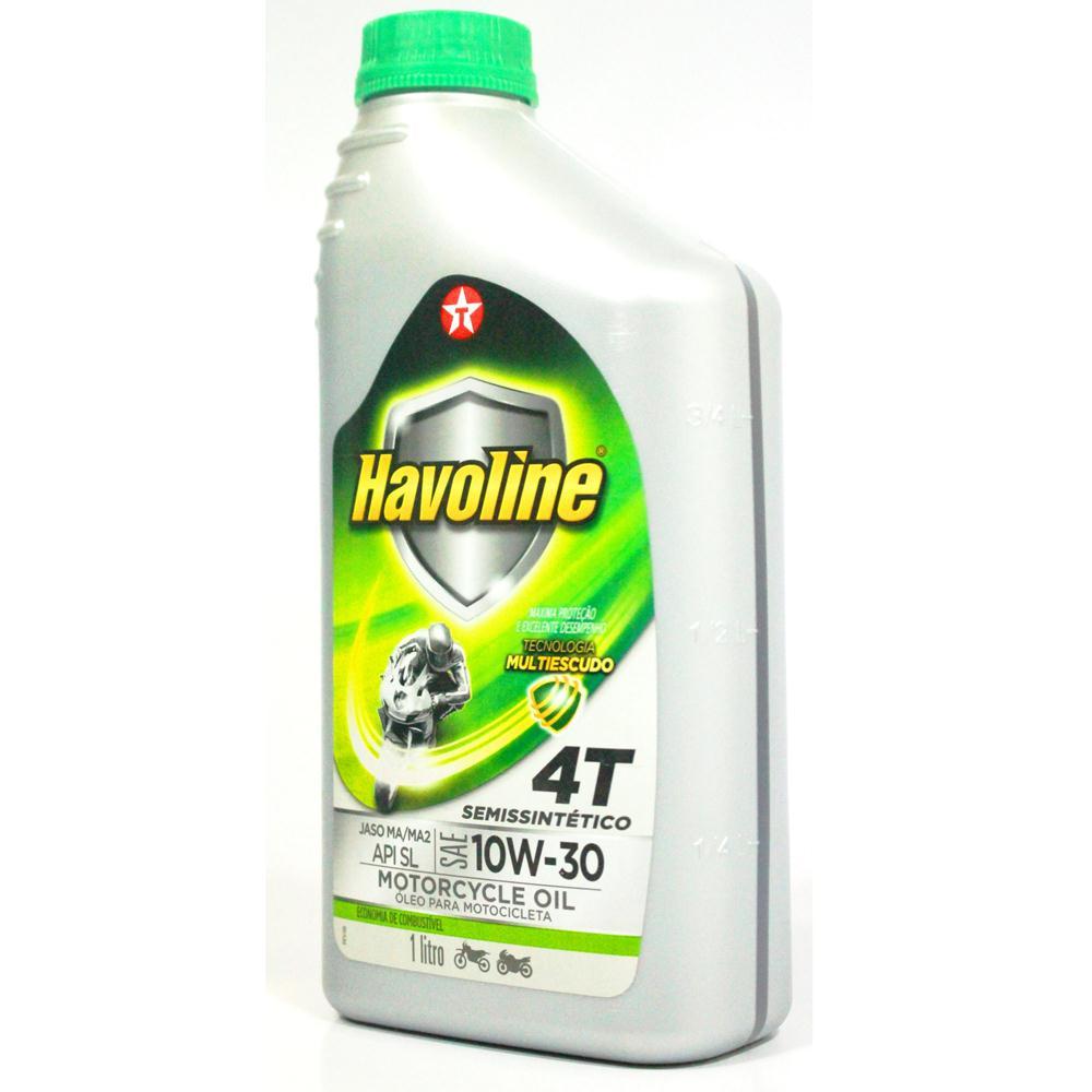 Oleo 4t 10w30 Semi Sintetico Api Sl Litro Honda Havoline