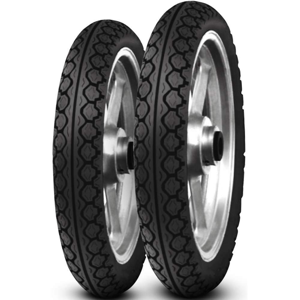 Par Pneu Biz 125 Pop 110i 80/100-14 + 60/100-17 Mt15 Pirelli