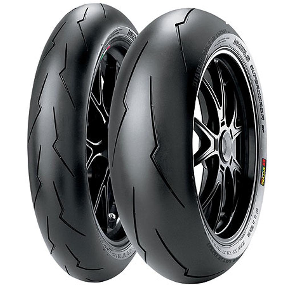 Par Pneu Cb 650 F 120/70r17 + 180/55r17 Zr Tl Diablo Supercorsa V2 Pirelli