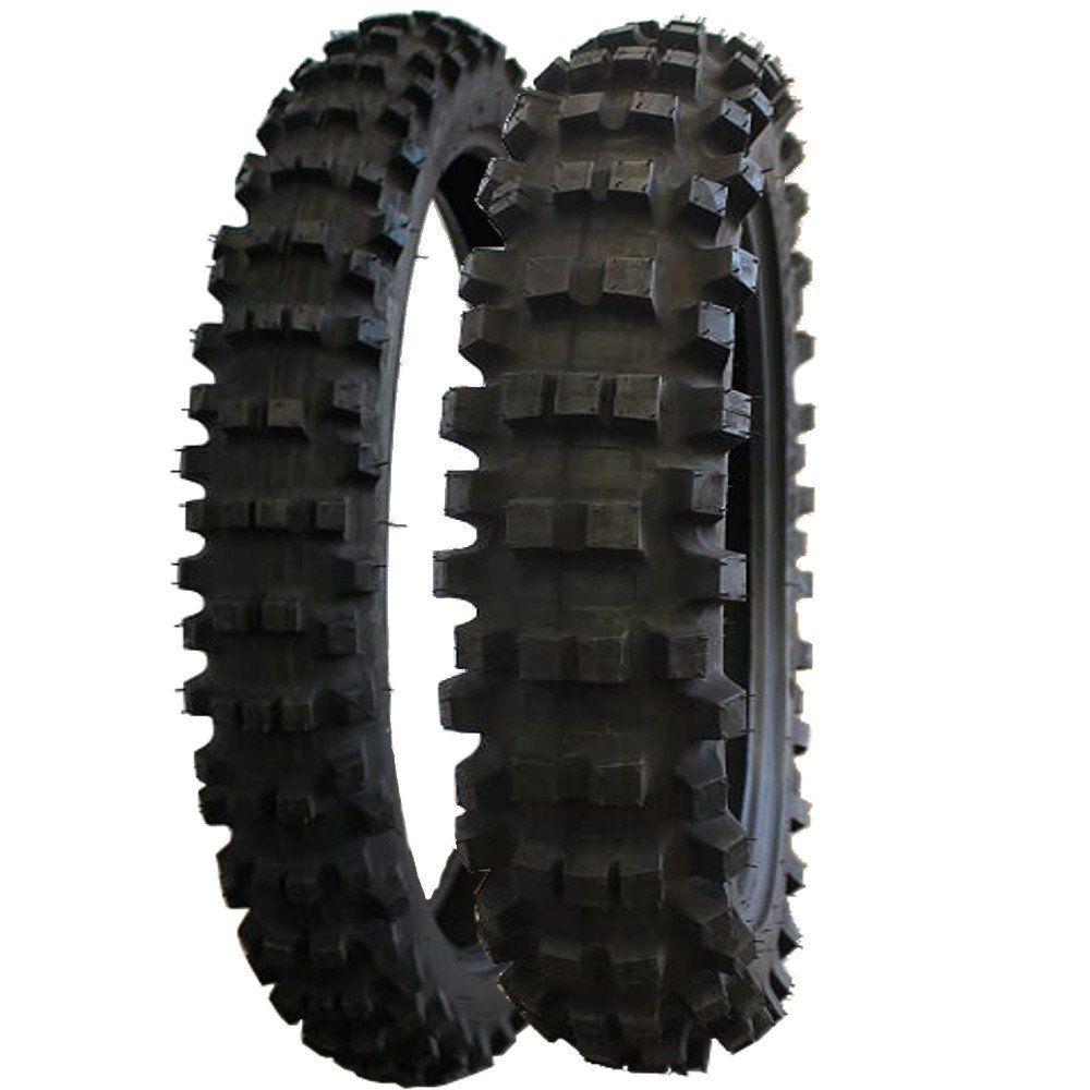 Par Pneu Crf230  DT 200 100/100-18 + 80/100-21 MT320 Pirelli