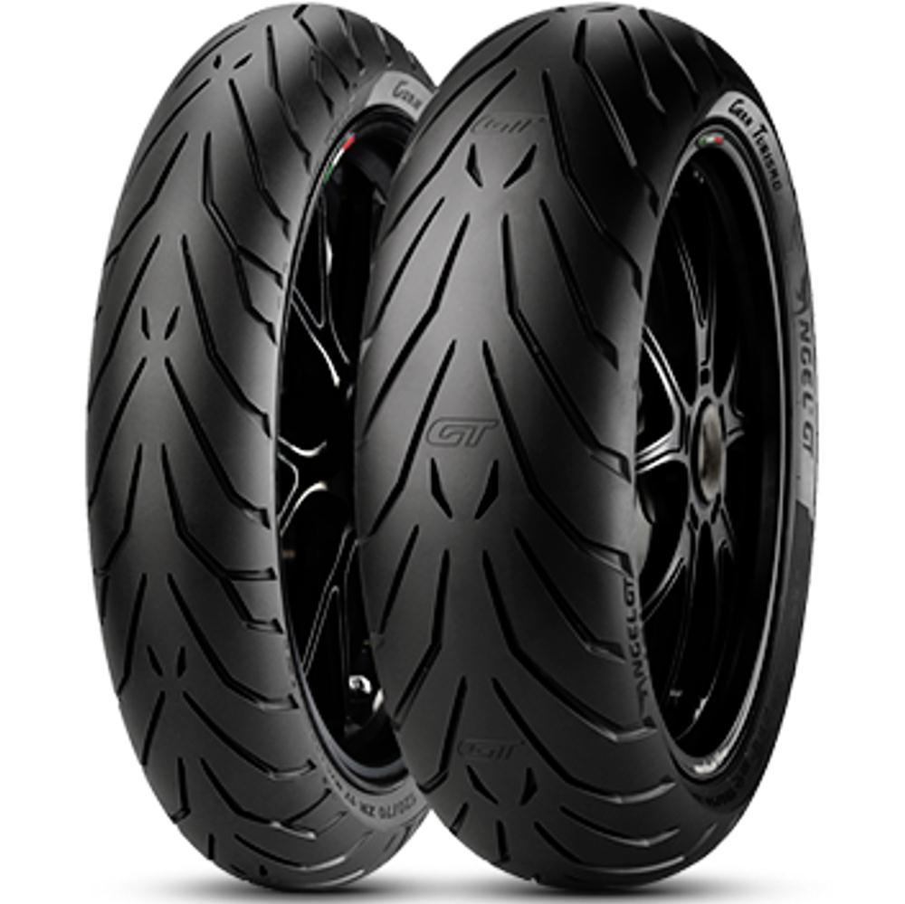 Par Pneu Honda Cb 500x 2020 160/60r17 + 110/80r19 Angel Gt Pirelli