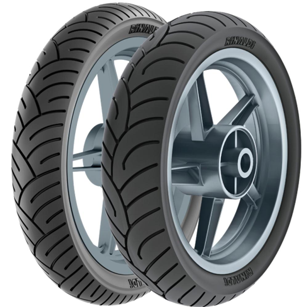 Par Pneu Honda Cbx 250 Twister 110/70-17 + 140/70-17 Tl Hb37 Rinaldi