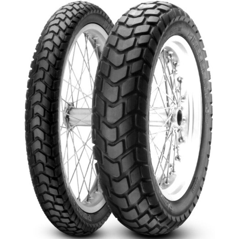 Par Pneu Bros 150 Bros 160 Xtz 150 Crosser 110/90-17 + 90/90-19 Mt60 Pirelli