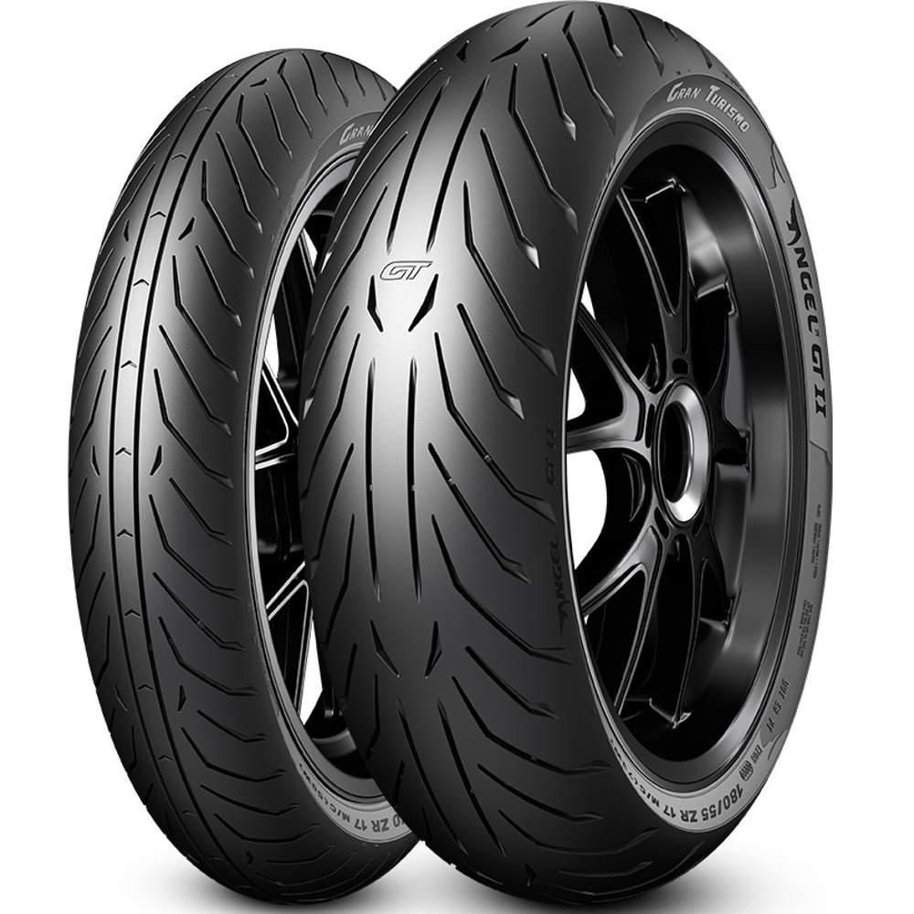 Par Pneu Xj6 Cb 500 F 120/70r17 + 160/60r17 Angel Gt 2 Pirelli