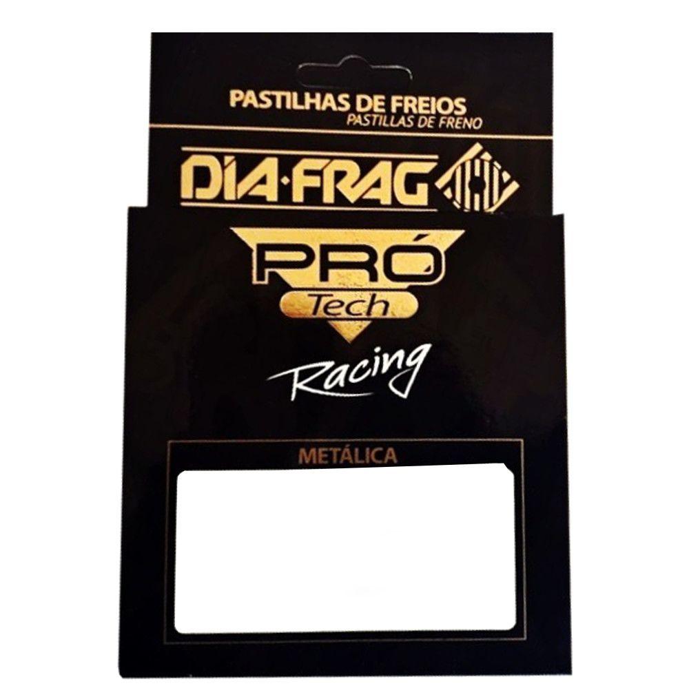 Pastilha de Freio GS 650 CB 500 F 800 GS S 1000 RR XT X 660 MT-03 Pro Tech DFP-60813