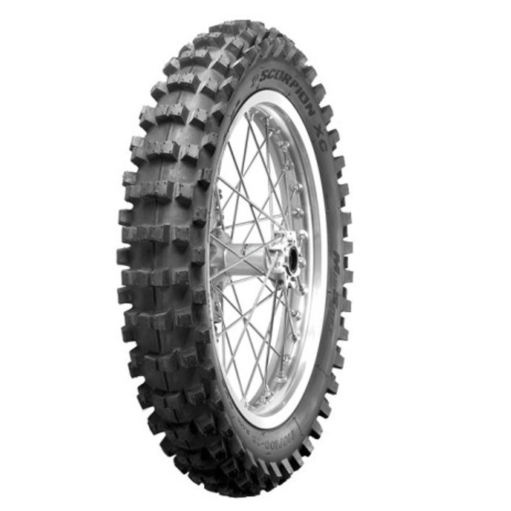 Pneu Xr250 Xre300 Crf230 110/100-18 64m Scorpion Xc Mid Soft Pirelli