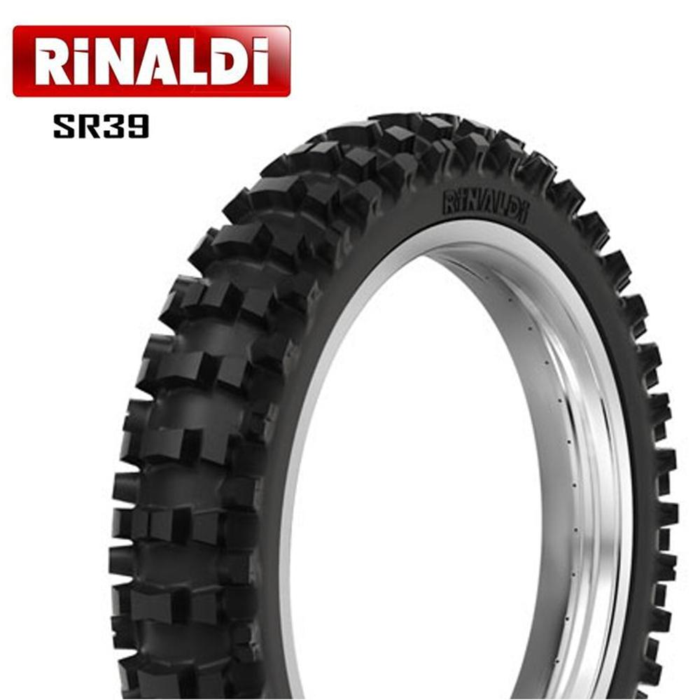 Pneu 110/90-19 62m Sr39 Strongrace Rinaldi Trilha Ktm 450 Sx Rm 250