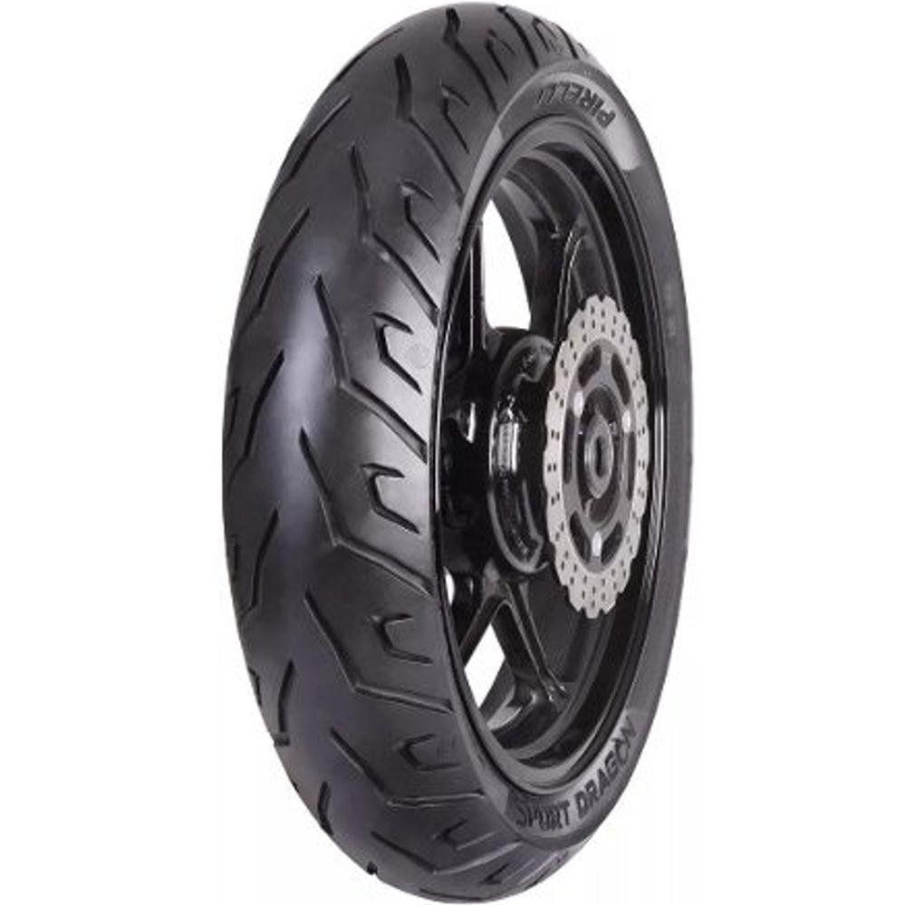 Pneu Cbx250 130/70-17 62s Tl Sport Dragon Traseiro Pirelli