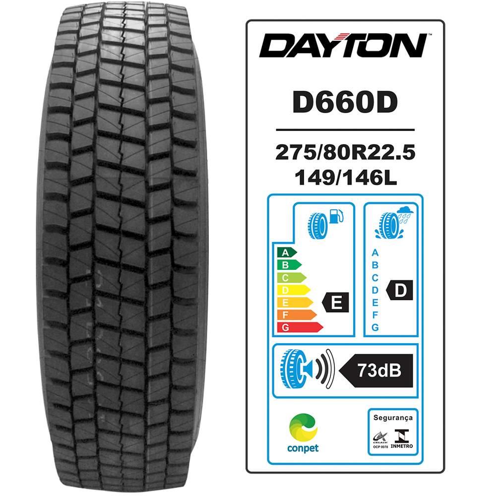Pneu 275/80r22.5 149/146l D660d Dayton