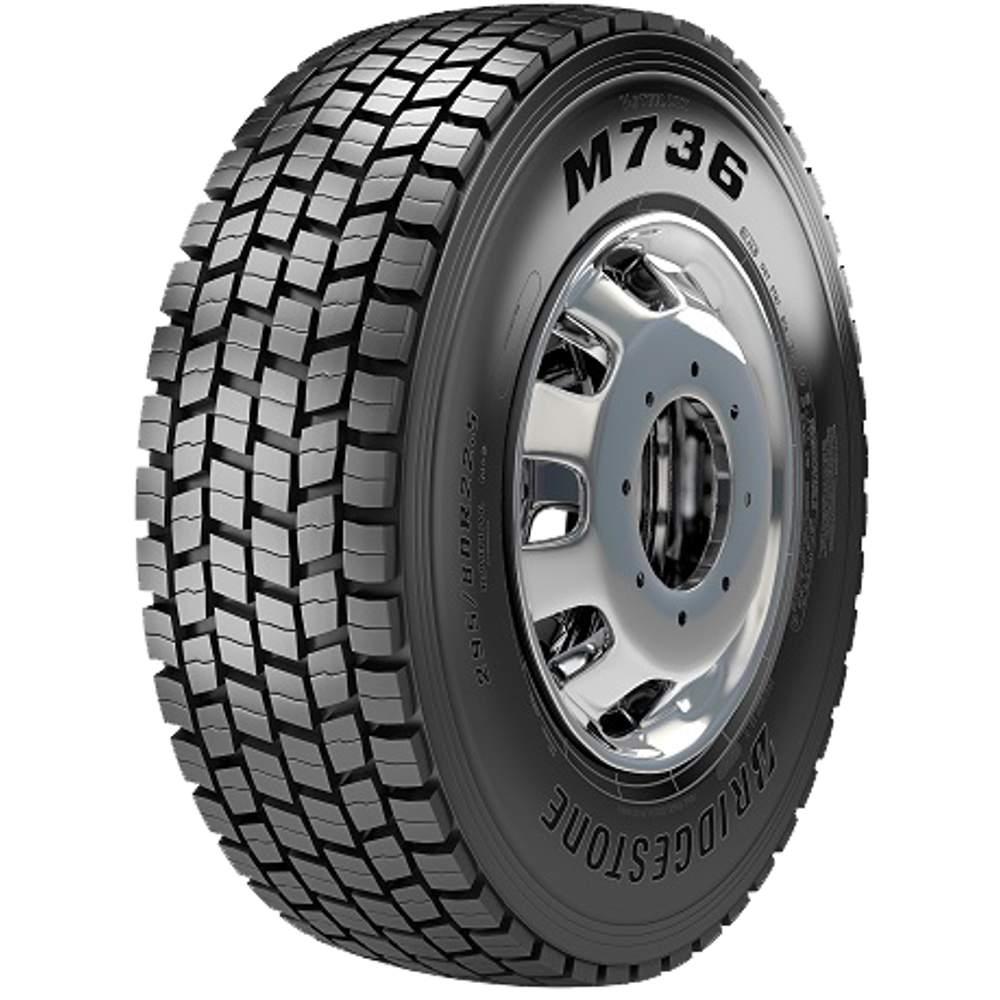Pneu 275/80r22.5 149/146L M736z Tração Bridgestone