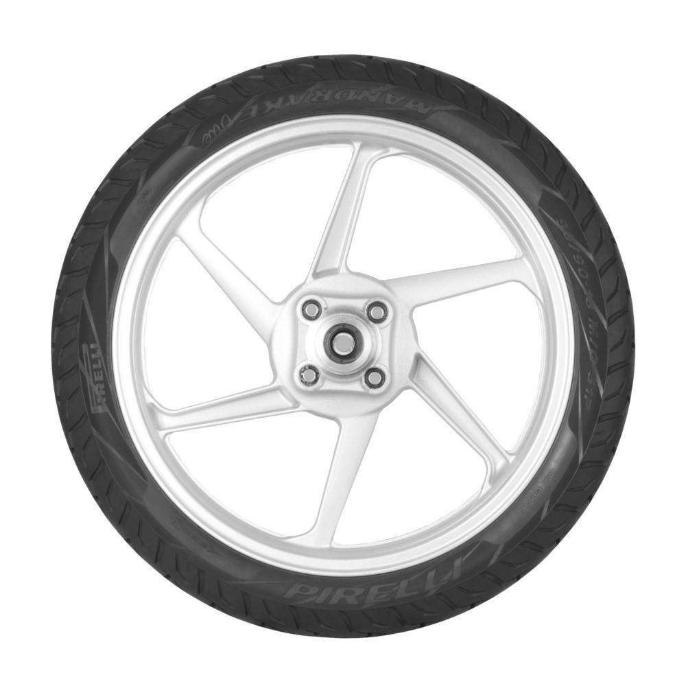 Pneu 60/100-17 33l Mandrake Duo Pirelli Dianteiro  Suzuki Yes 125 Dafra Speed 150 Honda Pop 100 Dream 100 Biz 100 125 Cg 125 Cg Cargo Titan Yamaha Crypton 100 Neon 115 Rd 124 Rdz 125 Rx 125 Ybr 125