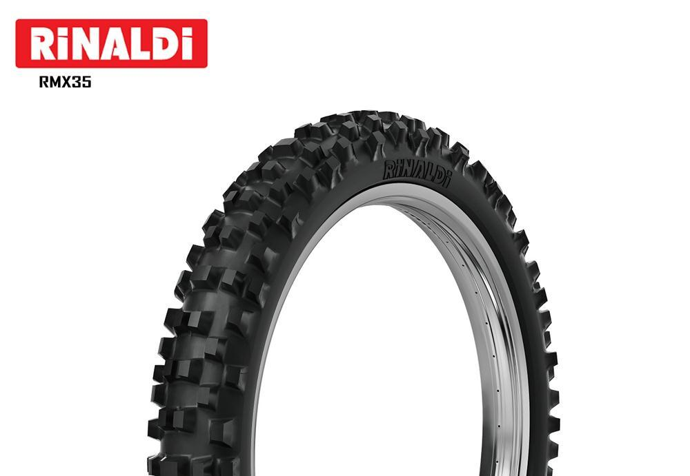 Pneu 70/100-10 Rmx35  Rinaldi Cross Trilha Off Road Mini Moto