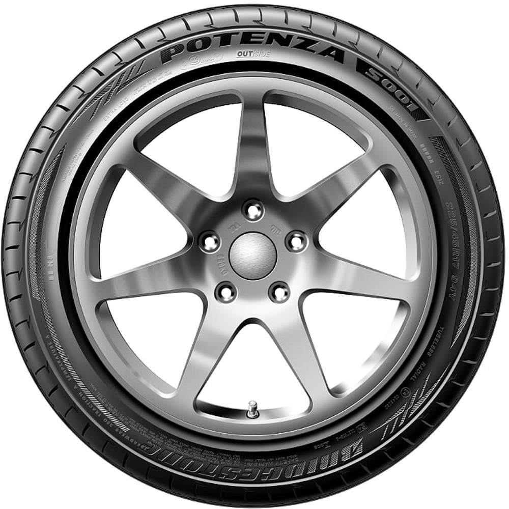 Pneu Audi A4 Bmw Série 5 Mitsubishi Lancer 245/40r18 97y S001 Potenza Bridgestone