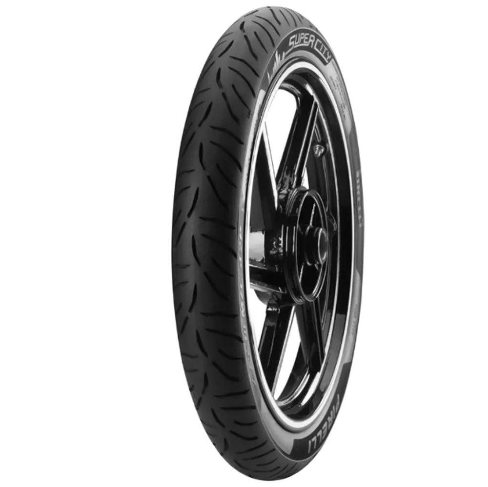 Pneu Biz 125 Biz 100 Pop 100 Crypton 60/100-17 33l Super City Pirelli