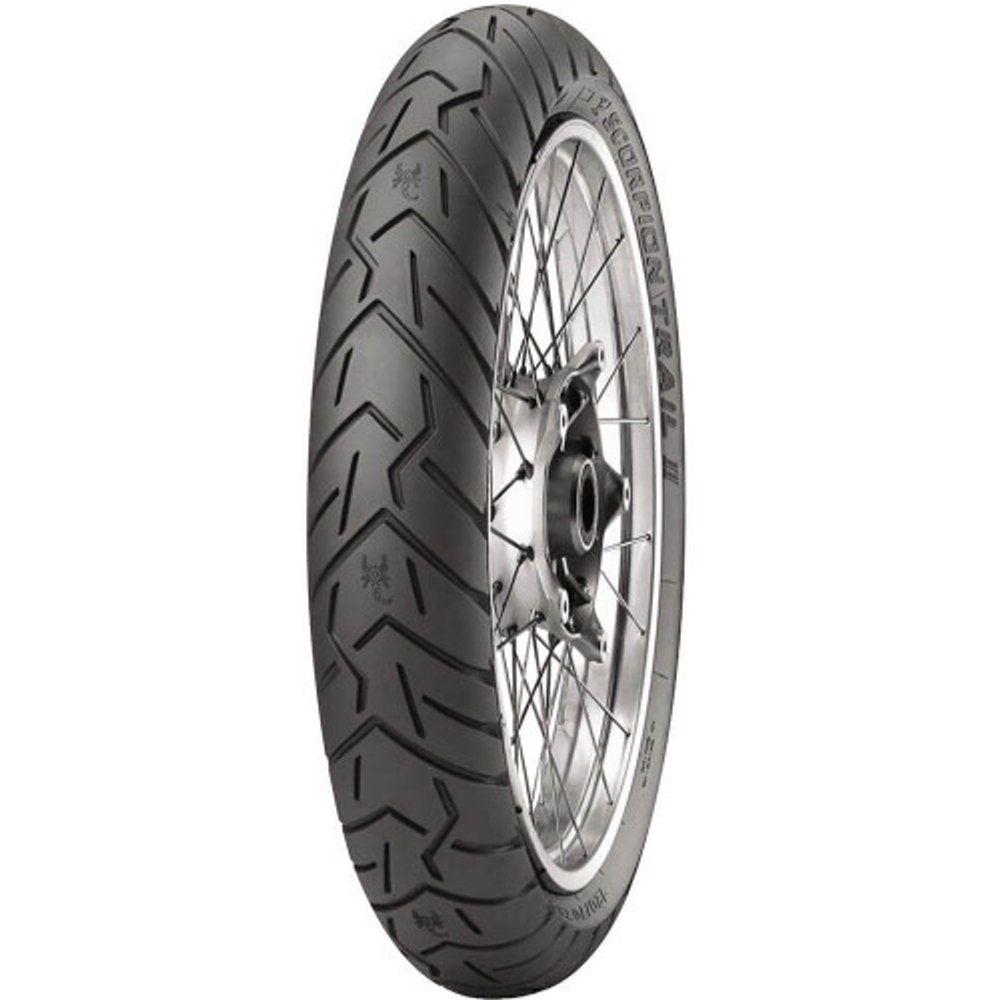 Pneu Bmw R 1200 Gs Tiger Explorer 120/70r19 60v Scorpion Trail 2 Pirelli