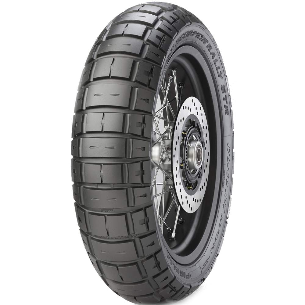 Pneu Bmw R 1200 Gs Tiger Explorer 170/60r17 72v Scorpion Rally Str Pirelli