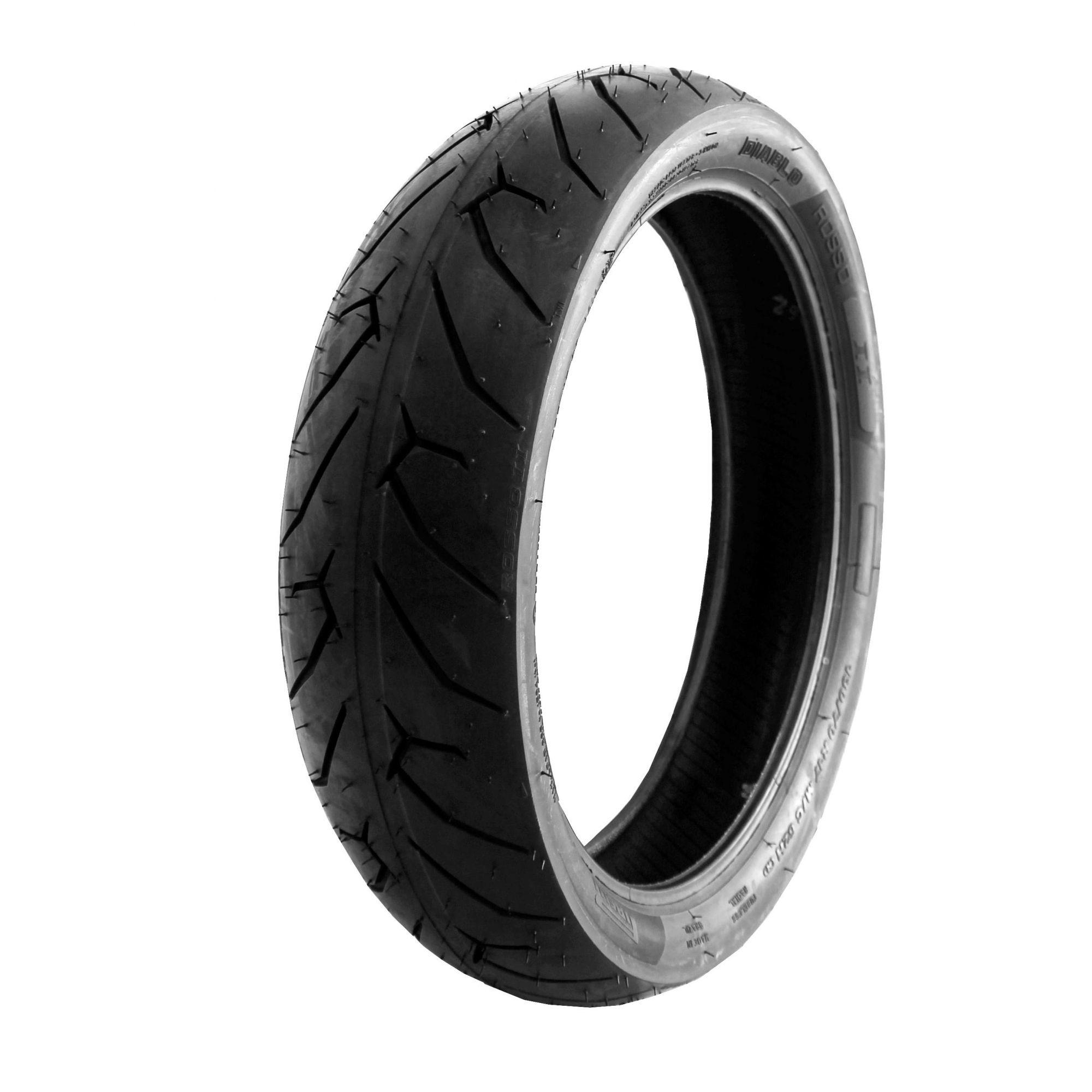 Pneu Cb 650 F 180/55r17 Zr 73w Tl Diablo Rosso II Pirelli