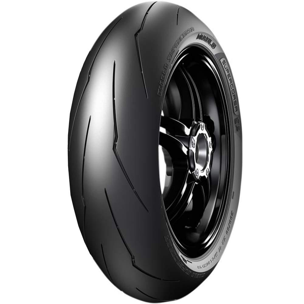 Pneu Cb 650 F Mt-07 Gsx-S 180/55r17 Zr 73w Tl Diablo Supercorsa V3 Pirelli