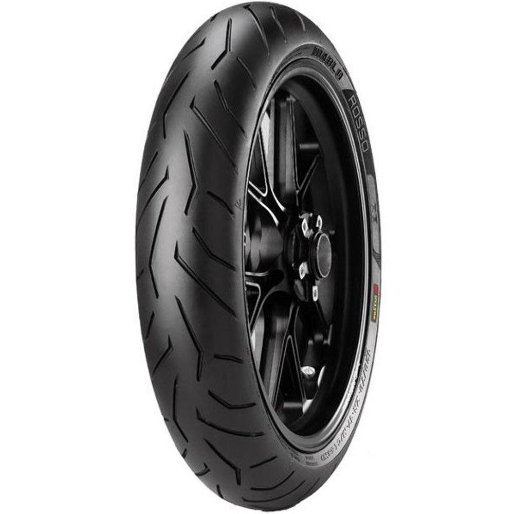 Pneu Xj6 Cb 500 F G 310 R 120/60r17 Zr Tl 55w Diablo Rosso II Pirelli