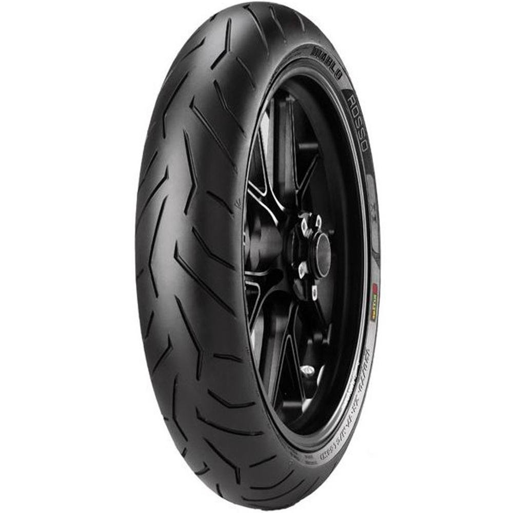 Pneu Cb 300 Fazer 250 Cb 250 110/70r17 54h Tl Diablo Rosso II Pirelli