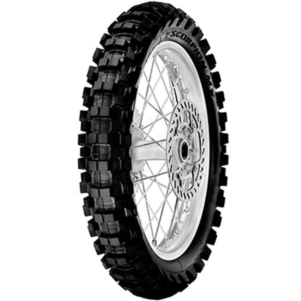 Pneu Cross Trilha Off Road Mini Moto 80/100-12 50m Nhs Scorpion Mx Extra J Pirelli